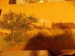 Peinture LEOPOLD LEVERT Tableau Oeuvre Originale T PAYSAGE - Oils