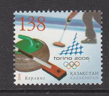 2006 Kazakhstan Winter Olympics Turin Set Of 1 MNH - Kazakhstan