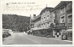 AYWAILLE : Place Et Vue Vers La Heid (Hôtel De Liège) - Aywaille