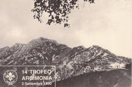 GRUPPO SCOUT TRIVERO 1° - 14° TROFEO ARGIMONIA 2 Settembre 1990 - Scoutismo