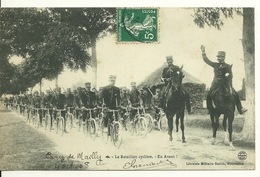10 - CAMP DE MAILLY / LE BATAILLON CYCLISTE - Mailly-le-Camp