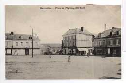 - CPA BEUZEVILLE (27) - Place De L'Eglise, Côté Nord 1907 - Taxée 2 X 5 C. Bleu Type Duval - - Other Municipalities