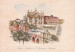 ROMA - BASILICA DI SAN GIOVANNI IN LATERANO - Illustratori & Fotografie
