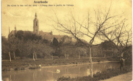 AVERBODE   L' étang Dans Le Jardin De L' Abbaye. - Scherpenheuvel-Zichem