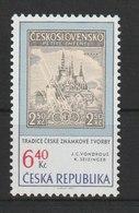 MiNr. 346 Tschechische Republik / 2003, 20. Jan. Tradition Tschechischer Briefmarkengestaltung. - Tschechische Republik