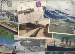 Lot 1475 De 10 CPA CPSM Bateaux Divers Déstockage Pour Revendeurs Ou Collectionneurs - Postcards