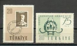 Turkey; 1957 75th Year Of The Art Academy - 1921-... República