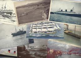 Lot 1477 De 10 CPA CPSM Bateaux Divers Déstockage Pour Revendeurs Ou Collectionneurs - Postcards
