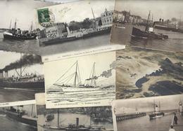 Lot 1478 De 10 CPA CPSM Bateaux Divers Déstockage Pour Revendeurs Ou Collectionneurs - Postcards