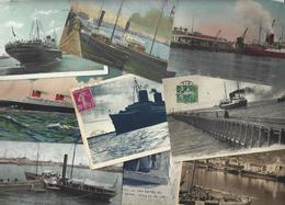 Lot 1479 De 10 CPA CPSM Bateaux Divers Déstockage Pour Revendeurs Ou Collectionneurs - Postcards