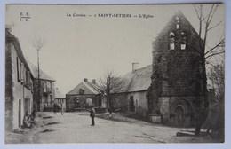 CPA Saint-Setiers, L'Eglise, Corrèze - Autres Communes