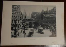 Londres. Ludgate Circus. 1914 - Estampes & Gravures
