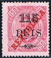 Angola, 1915, # 184 Dent. 13 1/2, MHNG - Angola