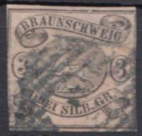 8, Rechts Und Links Berührt, Oben Und Unten Breitrandig - Braunschweig