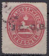 """18, Bedarfsstück, Aufdruck """"J.C.-G.B."""" - Braunschweig"""