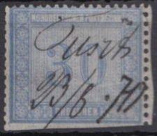 26, Federzug, Unten Scherentrennung - Norddeutscher Postbezirk