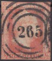 """13, Schmalrandig, Klar """"265"""", Cosel - Preussen"""