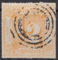 47, Zentrierter Ringstempel - Thurn Und Taxis