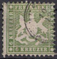 23, Gut Gezähnt, Leicht Dünn - Wuerttemberg
