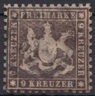 28 C, Gut Gezähnt, Tiefe Farbe - Wuerttemberg