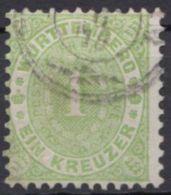 43, Gut Gezähnt Und Gestempelt - Wuerttemberg