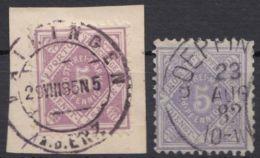101/2, Beide Farben, Sauber Gestempelt - Wuerttemberg