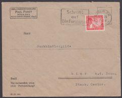 """373, Marke Perfin """"P.P."""" Für Paul Parey Berlin - Deutschland"""