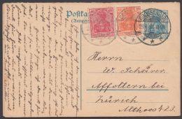 P 122 F, A, 2 Bedarfskarten, Je In Die Schweiz Mit Pass. Zusatzfrankatur - Deutschland
