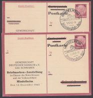 "P 244 F, A, Je Zudruck ""Ausstellung Mindelheim"", Pass. Sst. - Deutschland"