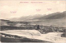 FR66 FONT ROMEU - Verges - Panorama Des Pyrénées - Belle - Autres Communes