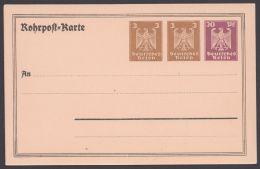 PP 87 A 1/01, Seltene Rohrpostkarte, * - Deutschland