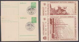 """PP 126 C 29/01 + /02 """"Litzmannstadt"""", 1942, Beide Karten Pass. Sst. - Deutschland"""