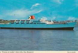 "The ""Princess Of Acadia"", Saint John, New Brunswick - Ferries"