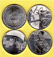 """Les 3 Pièces De 5 Euros Argent  """"EUROS DE LA REPUBLIQUE - LIBERTE EGALITE FRATERNITE"""" (Scann Avers Et Revers)_Col_numi20 - France"""