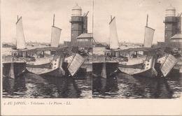 CPA B9 (JAPON) YOKOHAMA - Le Phare (The Lighthouse) LL - Carte Stéréoscopique - Yokohama