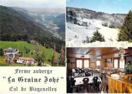 """68 - COL Des BAGENELLES : FERME AUBERGE De """" LA GRAINE JOHE """" ( Prop. D. DidierJean ) CPSM CPM Grand Format - Haut Rhin - Sonstige Gemeinden"""
