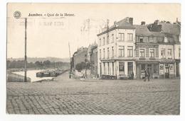 Jambes Quai De La Meuse Carte Postale Ancienne 1924 - Namur