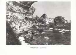 1970 - Héliogravure - Bonifacio (Corse) - Les Falaises - FRANCO DE PORT - Vieux Papiers