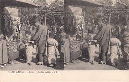 CPA B10 (JAPON) Tokio - Jardin Public (Public Garden) LL - Carte Stéréoscopique - Yokohama