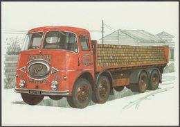 Marston Valley Brick Co Ltd ERF KV - Golden Era Postcard - Trucks, Vans &  Lorries