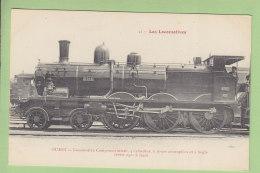 Cie  De L'Ouest : Locomotive  Compound Mixte 2516. TBE. 2 Scans. Locomotives, Edition Fleury - Matériel