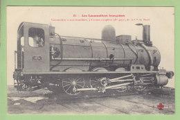 Cie  Du Nord : Locomotive à Marchandises 4051, Cail à Paris. TBE. 2 Scans. Locomotives, Edition Fleury - Matériel