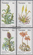South Africa - Transkei 24-27 (complete.issue.) Unmounted Mint / Never Hinged 1977 Herbs - Transkei