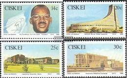 Südafrika - Ciskei 106-109 (completa Edizione) First Day Cover 1986 L'indipendenza - Ciskei