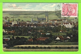 VYSOKE MYTO - CELKOVY POHLED - Carte écrite En 1911 - Czech Republic