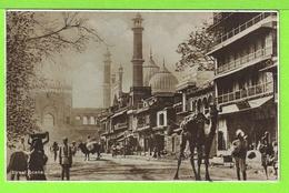 DELHI - STREET SCENE - SCENE DE LA RUE - Carte Vierge - Inde