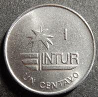 Cuba 1 Centavo 1988 Intur Top Grade Rare! - Cuba