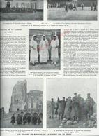 MILITARIA 14/18  COUPURE DE PRESSE MILITAIRE DU JOURNAL ILLUSTRATION MINISTERE DE LA GUERRE AU FRONT : - 1914-18