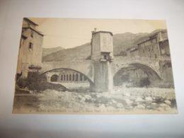 6cxz - CPA N°8 - SOSPEL - Le Vieux Pont -  [06] Alpes Maritimes - - Sospel