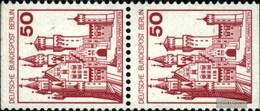 Berlin (West) 536C/D Senkrechtes Paar FDC 1977 Burgen Und Schlösser - FDC: Briefe